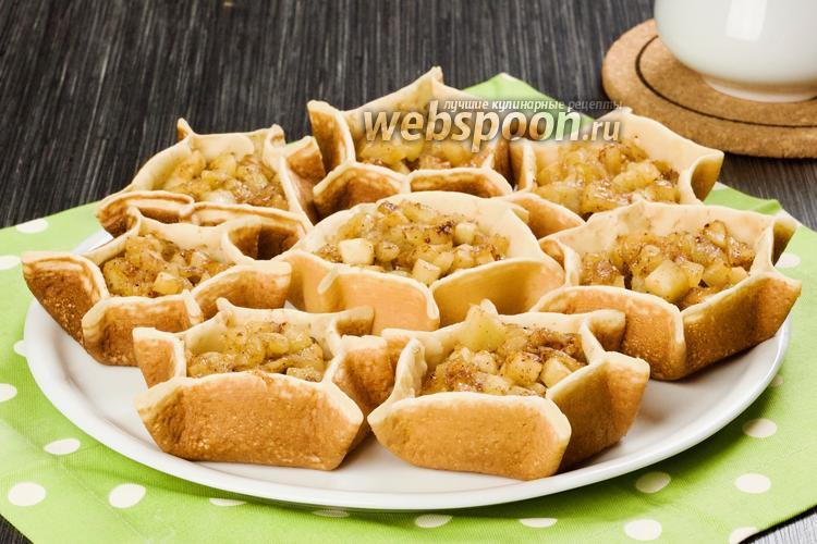 Фото Арабские блинчики Катаеф с яблоками. Видео-рецепт