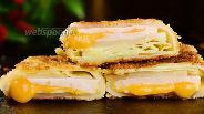 Фото рецепта Капуста с ветчиной и сыром в сухарях. Видео-рецепт