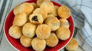 Фото рецепта Кокосовое печенье с начинкой