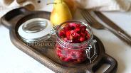 Фото рецепта Винегрет с грушей