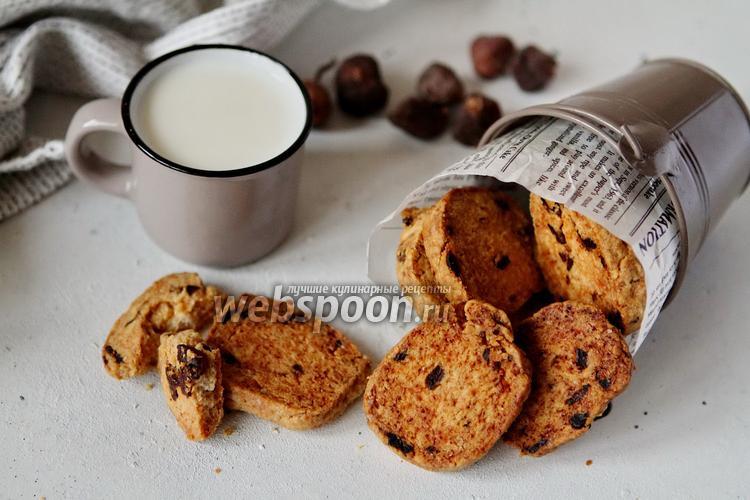 Фото Песочное инжирное печенье