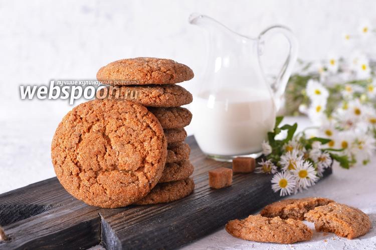 Фото Сахарное печенье с молоком