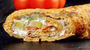 Фото рецепта Бризоль из фарша с сыром. Видео-рецепт
