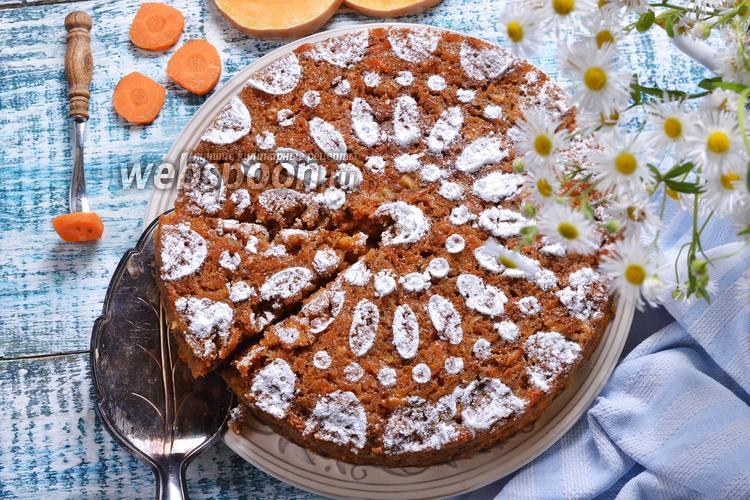 Фото Тыквенно-морковный кекс