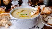 Фото рецепта Крем-суп из цветной капусты с запечённой курицей