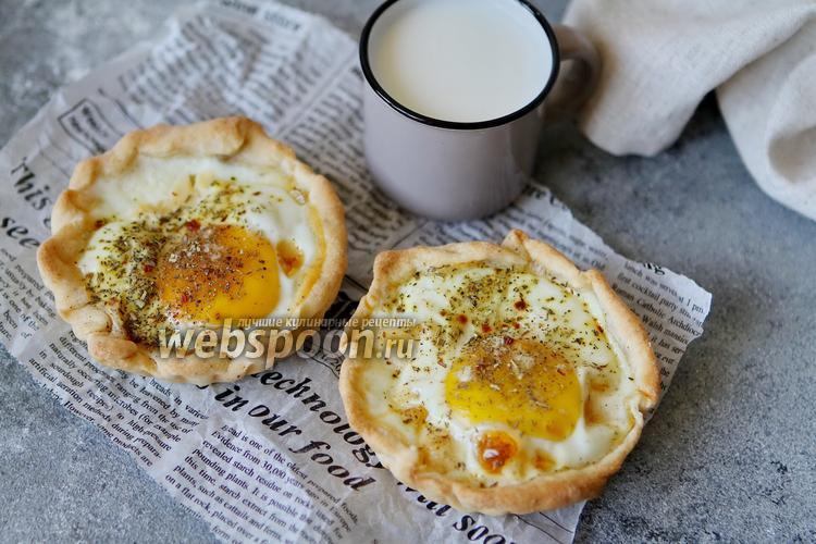 Фото Галета с яйцом