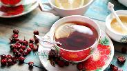 Фото рецепта Шиповниковый чай с золотым корнем и имбирём