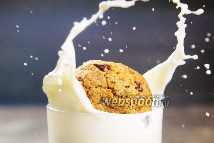 Фото Овсяное печенье с клюквой. Видео-рецепт