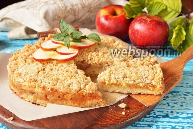 Фото Сбричолата с яблоками