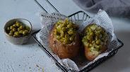 Фото рецепта Запечённый картофель с начинкой в духовке