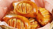 Фото рецепта Булочки с ветчиной и сыром. Видео-рецепт