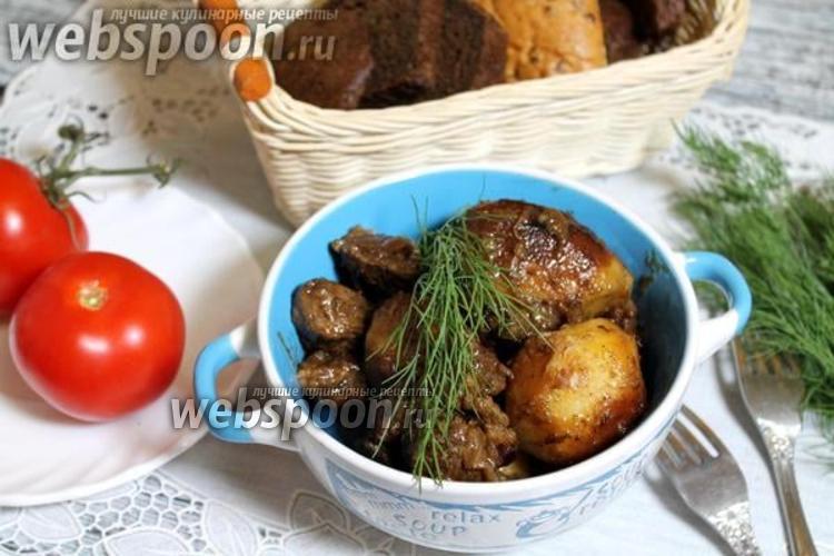 Фото Казан-кебаб из баранины с картошкой