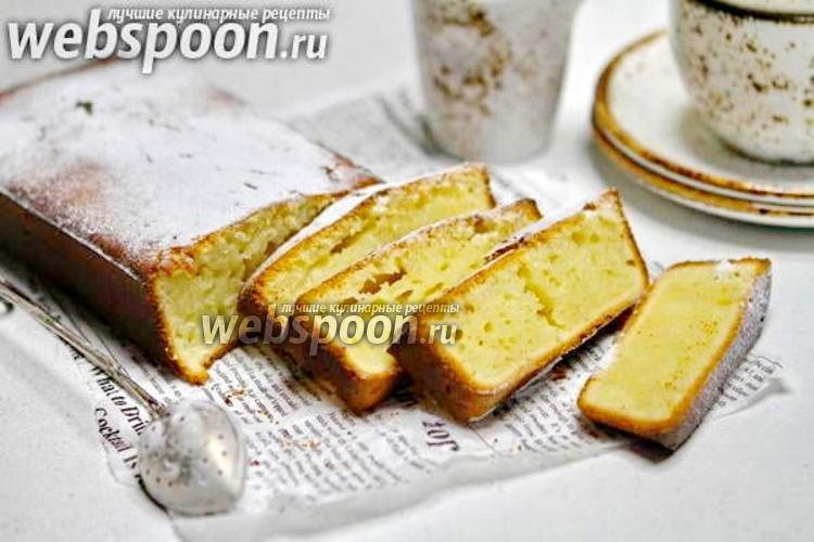 Фото Лимонный кекс на кефире