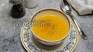 Фото рецепта Суп-пюре из тыквы на овсяном молоке