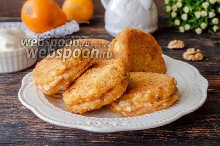 Фото Сырники с тыквой и орехами