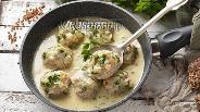 Фото рецепта Гречаники в сметанном соусе