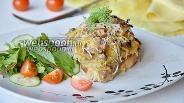 Фото рецепта Стожки из свинины с картофелем и грибами