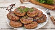 Фото рецепта Гречаники с грибами