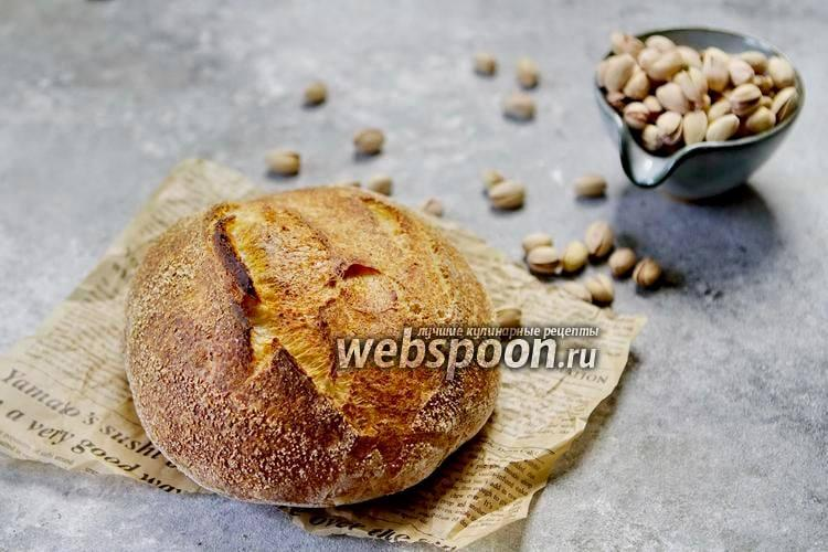 Фото Хлеб с фисташками