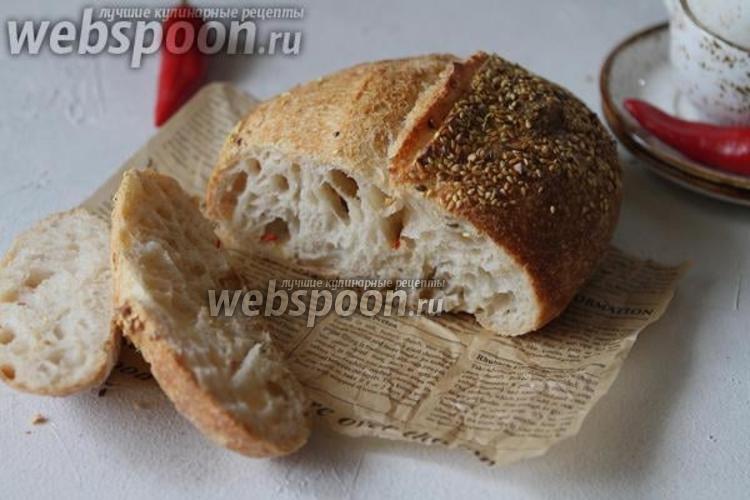 Фото Хлеб с перцем чили