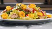 Фото рецепта Салат с тунцом и фасолью. Видео-рецепт