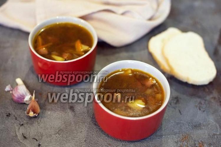 Фото Куриный суп с диким рисом
