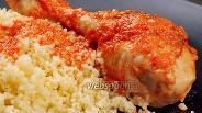 Фото рецепта Куриные голени в лаваше. Видео-рецепт