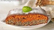 Фото рецепта Карамельно-маковый пирог