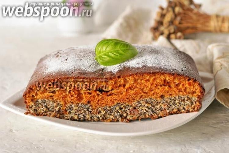 Фото Карамельно-маковый пирог