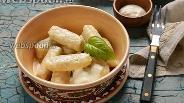 Фото рецепта Ленивые вареники с овсяной мукой