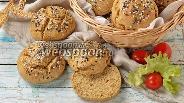 Фото рецепта Ржаные булочки без дрожжей