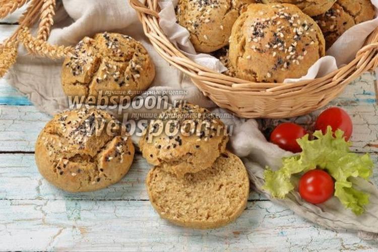 Фото Ржаные булочки без дрожжей
