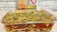 Фото рецепта Лазанья болоньезе с соусом бешамель