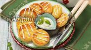 Фото рецепта Сырники с рисовой мукой в духовке