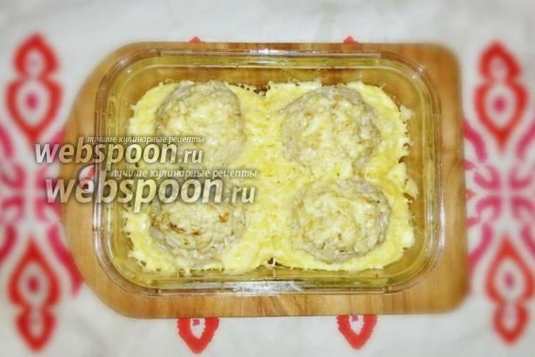Фото Куриные котлеты в картофельных гнёздах