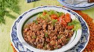 Фото рецепта Куриные желудки с гречкой