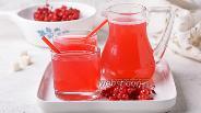 Фото рецепта Компот из замороженной красной смородины