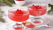 Фото рецепта Желе из замороженной красной смородины