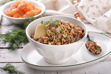 Фото рецепта Гречка на сковороде