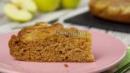 Фото рецепта Имбирный пирог с яблоками