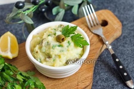Картошка с оливками по-провансальски