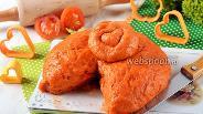 Фото рецепта Томатное тесто