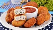 Фото рецепта Наггетсы из куриного фарша