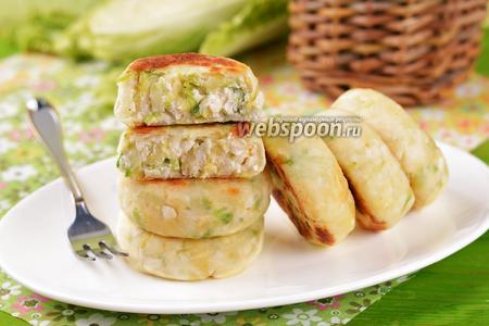 Сырники с капустой
