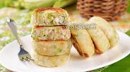 Фото рецепта Сырники с капустой