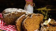 Фото рецепта Ржаной хлеб без дрожжей