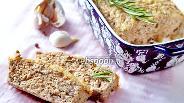 Фото рецепта Мясной хлеб из индейки с опятами
