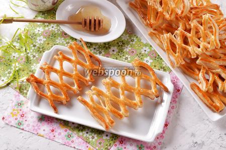 Печенье «Медовые соты»