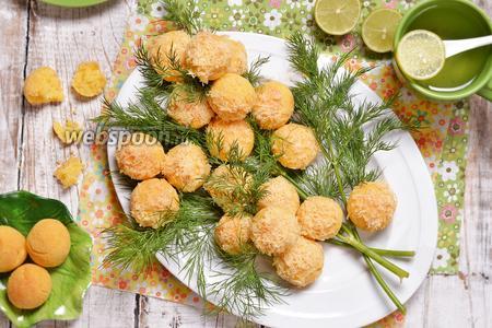 Солёное печенье Мимоза