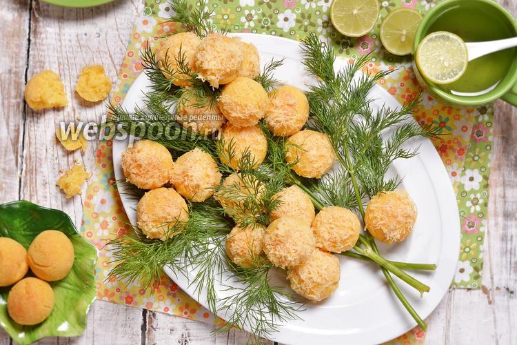 Фото Солёное печенье Мимоза